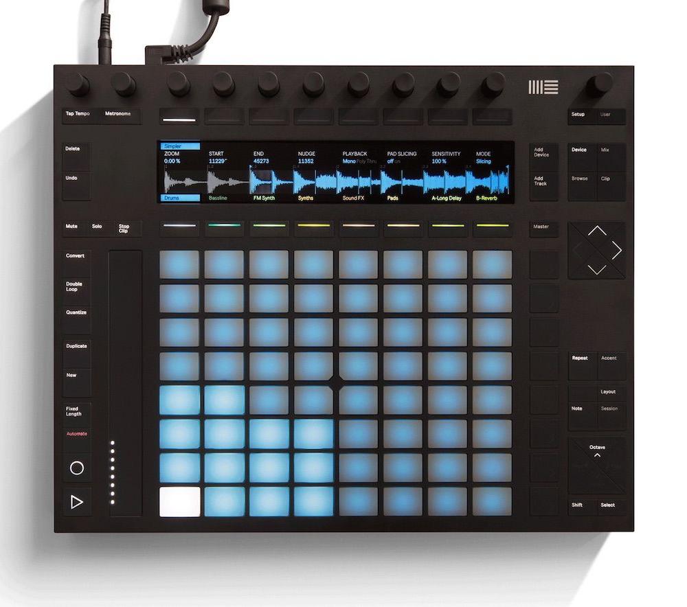 DJ-контроллеры Ableton Push 2