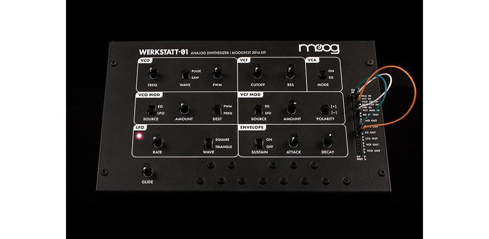 Синтезаторы и рабочие станции Moog Werkstatt-Ø1