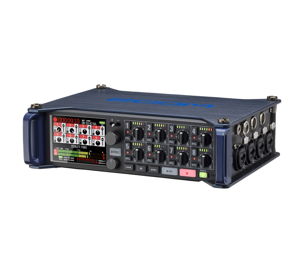 Аудио конверторы, рекордеры Zoom F8