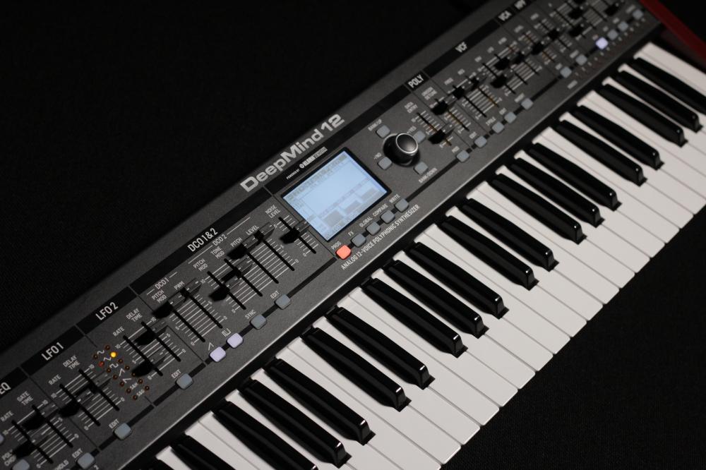 Синтезаторы и рабочие станции Behringer DeepMind 12 Analog Synthesizer DCO