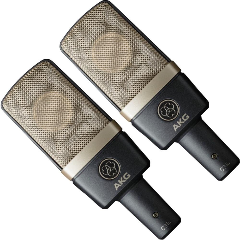 Студийные микрофоны AKG C314MP