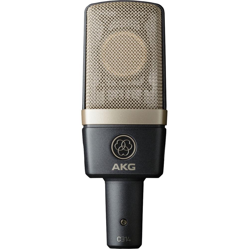 Студийные микрофоны AKG C314