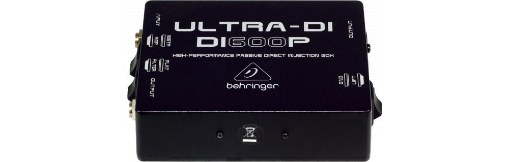 Процессоры эффектов Behringer DI600P