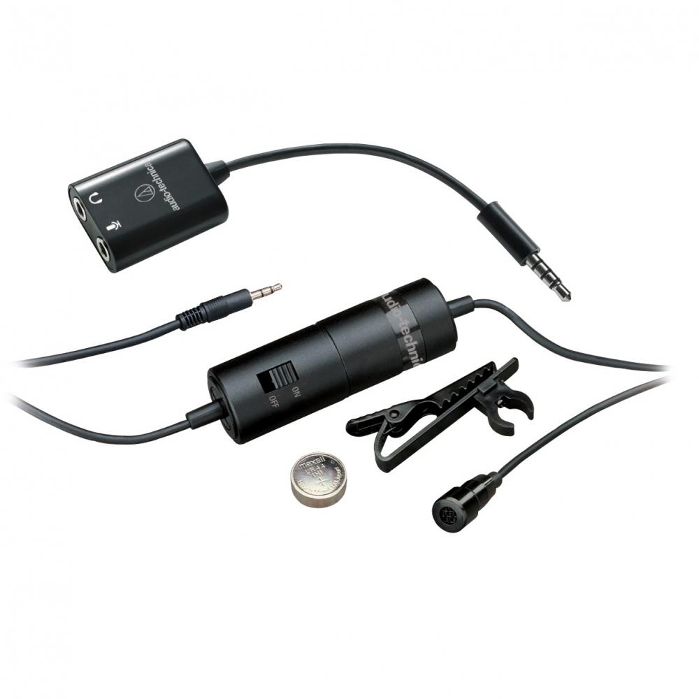 Петличные микрофоны Audio-Technica ATR3350IS
