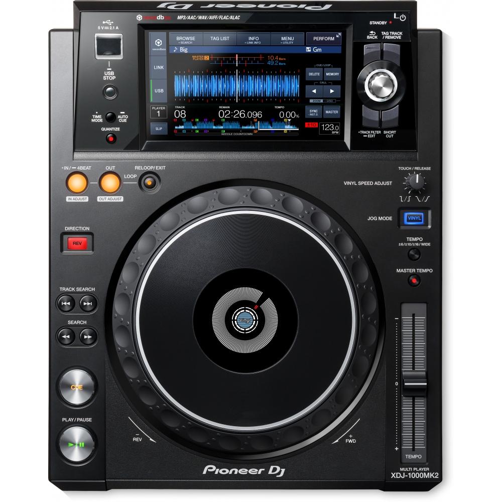 CD/USB-проигрыватели Pioneer XDJ-1000MK2