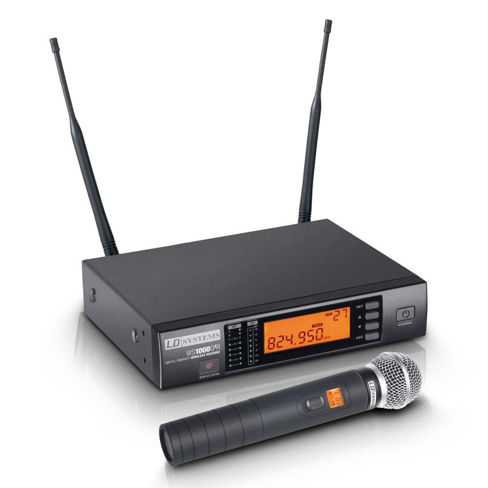 Все Микрофоны LD Systems WS 1000 G2 HHD