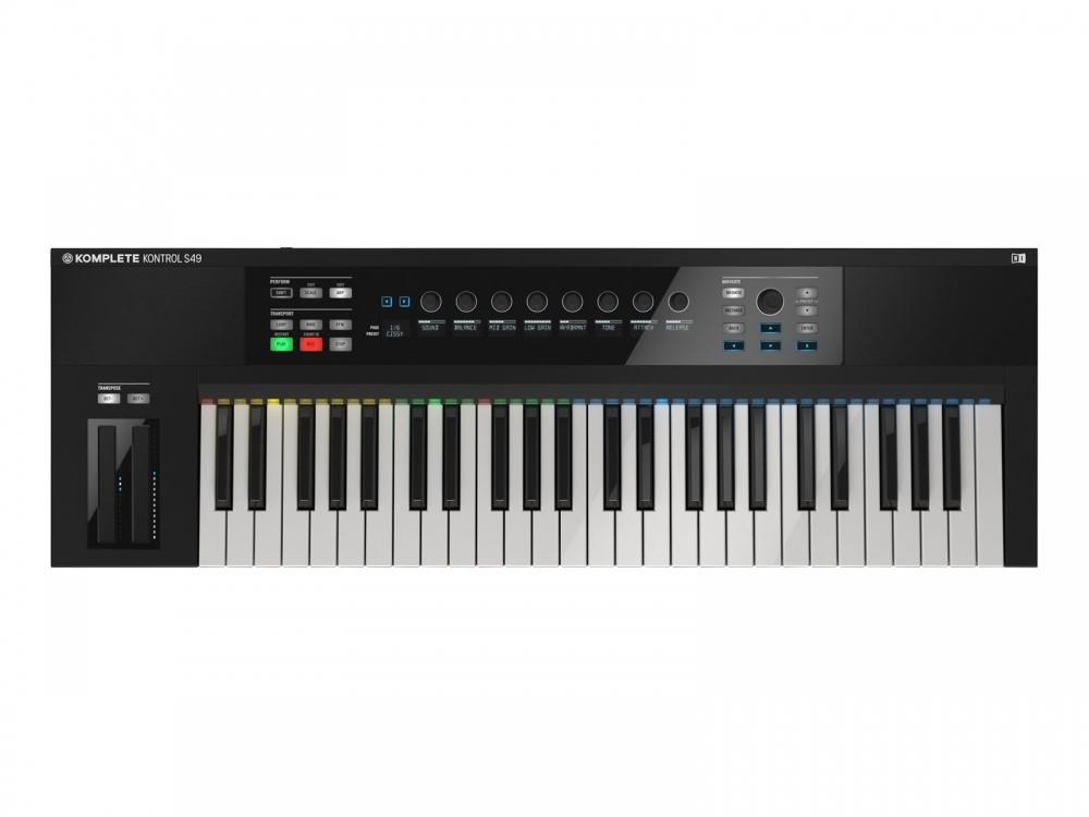 Midi-клавиатуры Native Instruments Komplete Kontrol S49