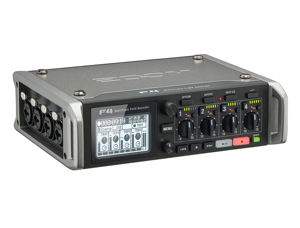 Аудио конверторы, рекордеры Zoom F4