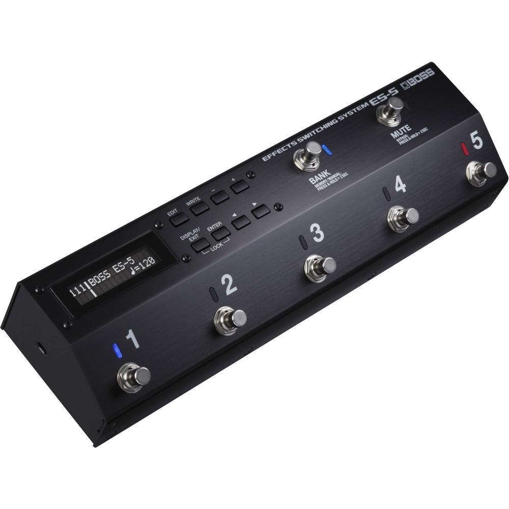 Гитарные процессоры Boss ES-5