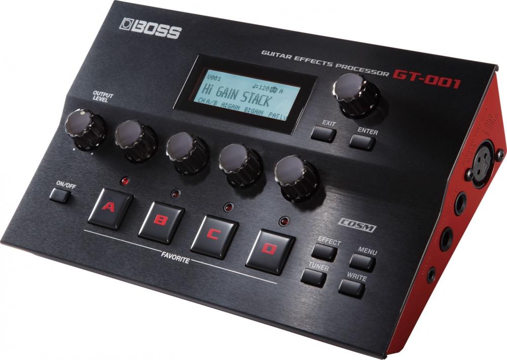 Эффекторы Boss GT-001