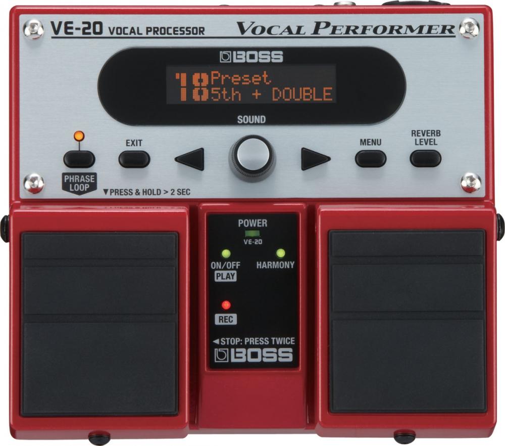 Вокальные процессоры Boss VE-20