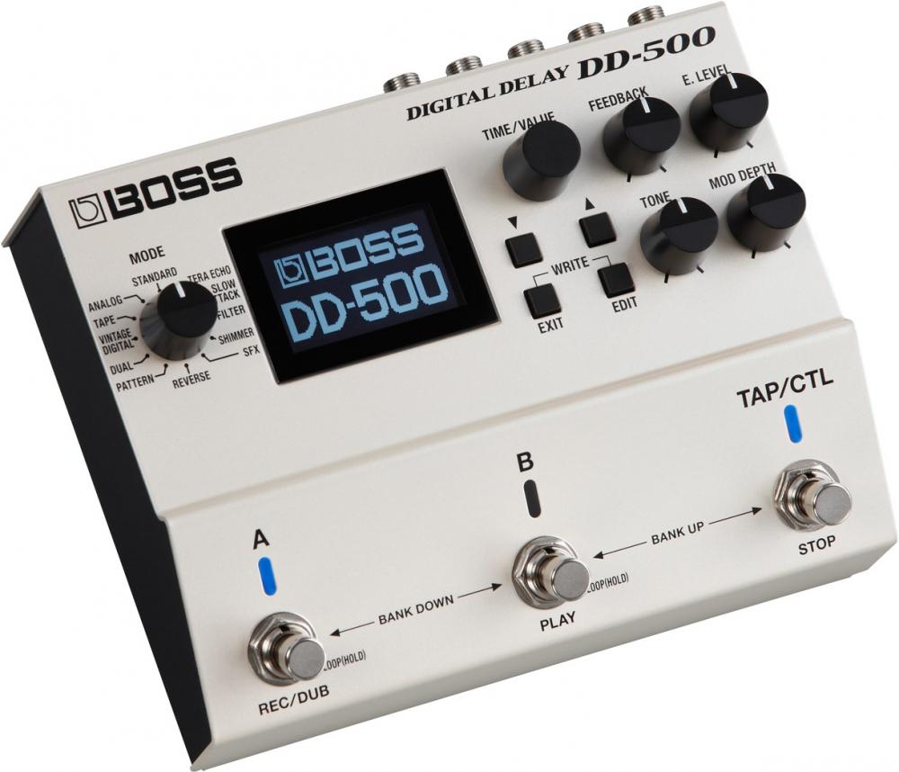 Гитарные процессоры Boss DD500
