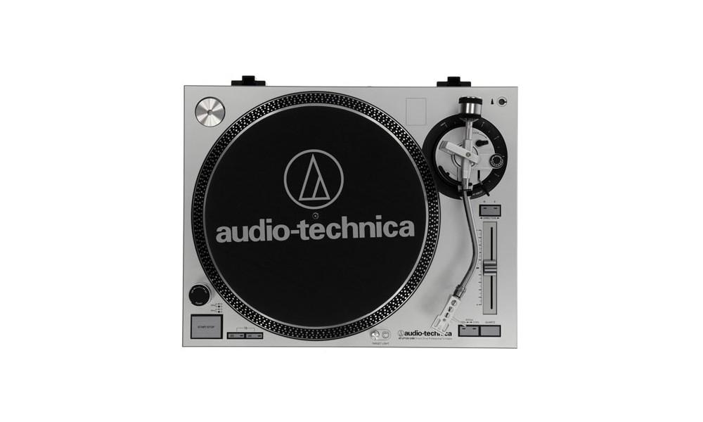 Проигрыватели винила Audio-Technica AT-LP120-USBHC Silver