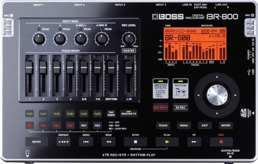 Портостудии Boss BR-800