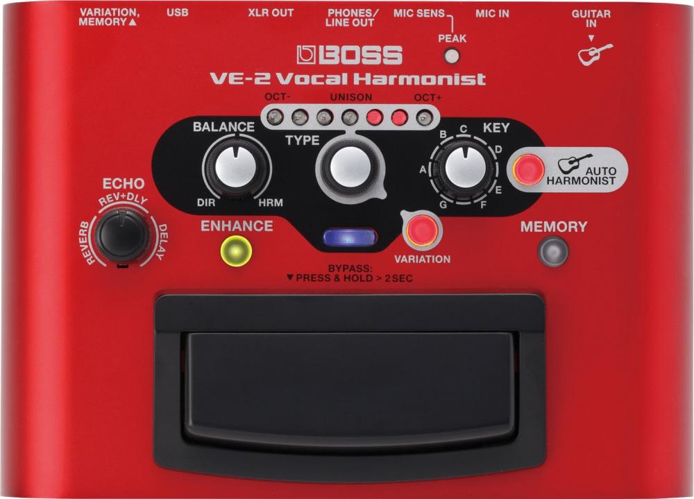 Вокальные процессоры Boss VE-2