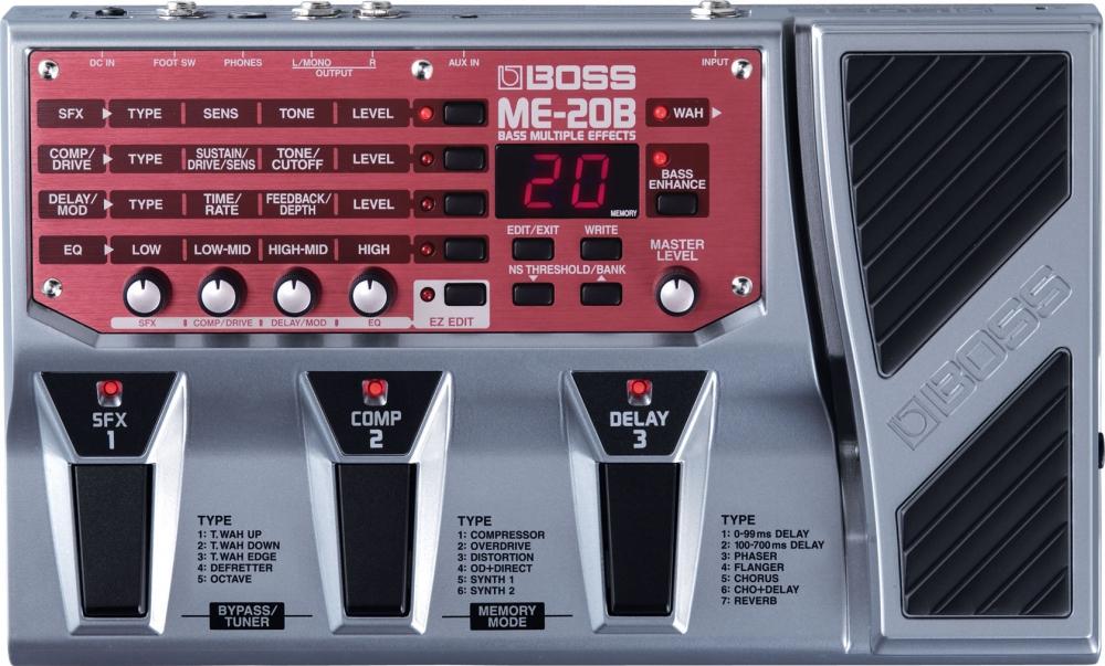 Эффекторы Boss ME-20B