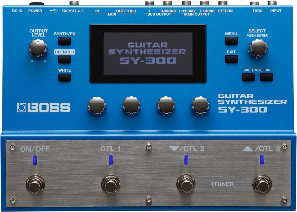 Гитарные процессоры Boss SY-300