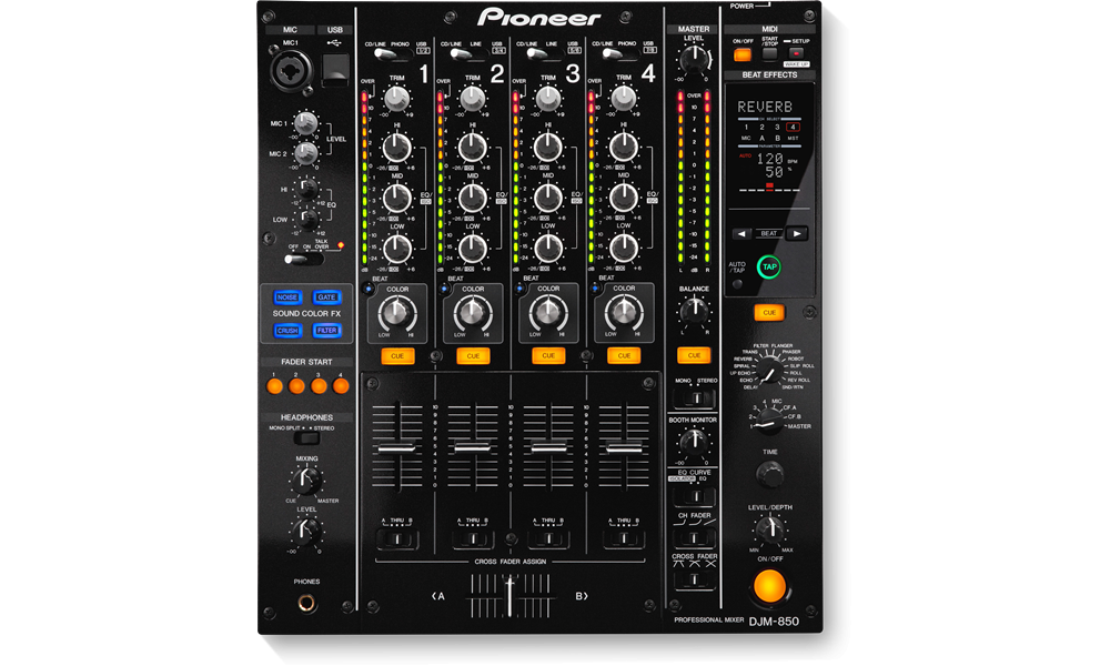 DJ-микшеры Pioneer DJM-850K