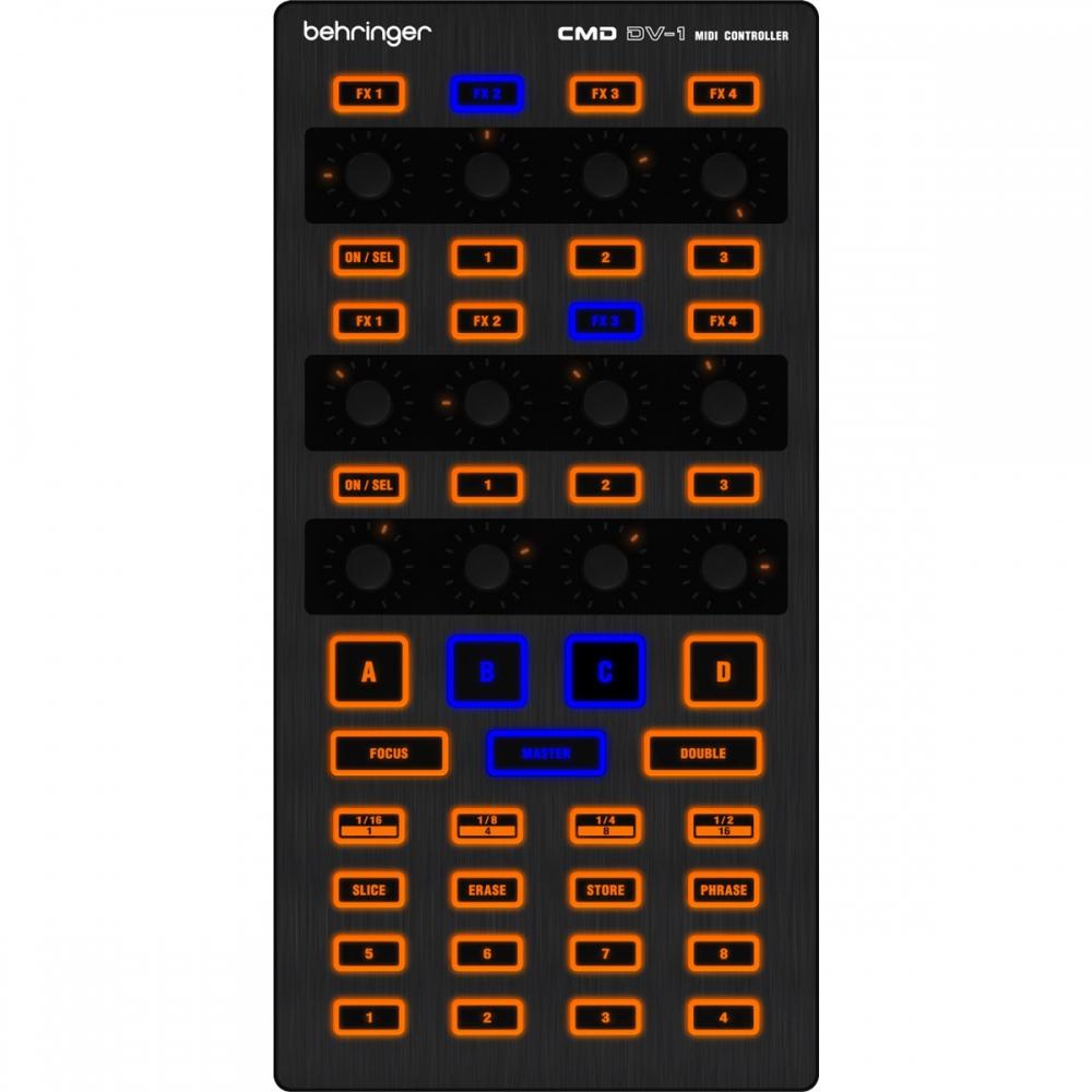DJ-контроллеры Behringer CMD DV-1