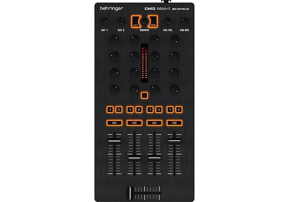 DJ-контроллеры Behringer CMD MM-1