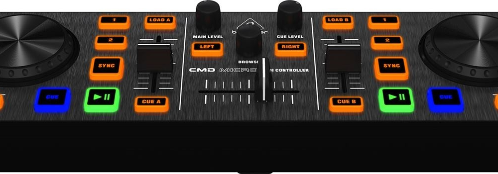 DJ-контроллеры Behringer CMD-MICRO