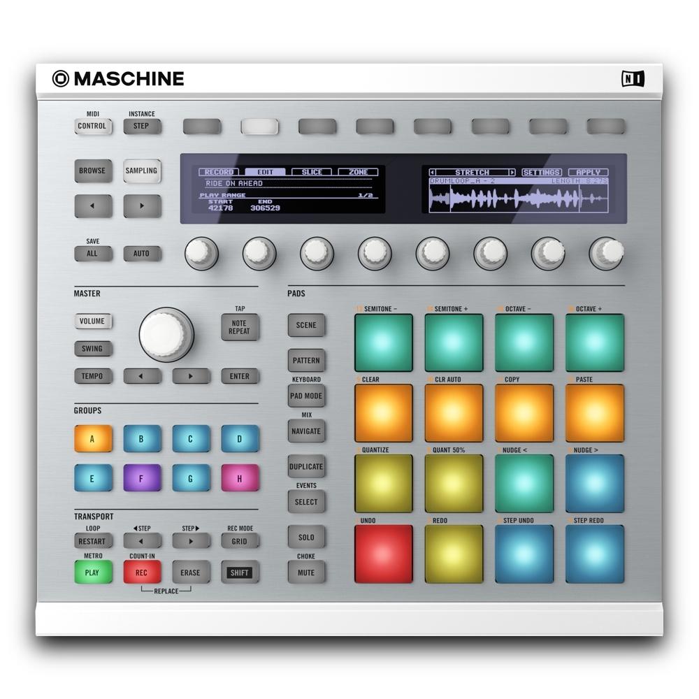 DJ-контроллеры Native Instruments Maschine MkII (White)