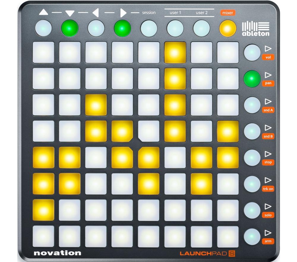 DJ-контроллеры Novation LaunchPad S