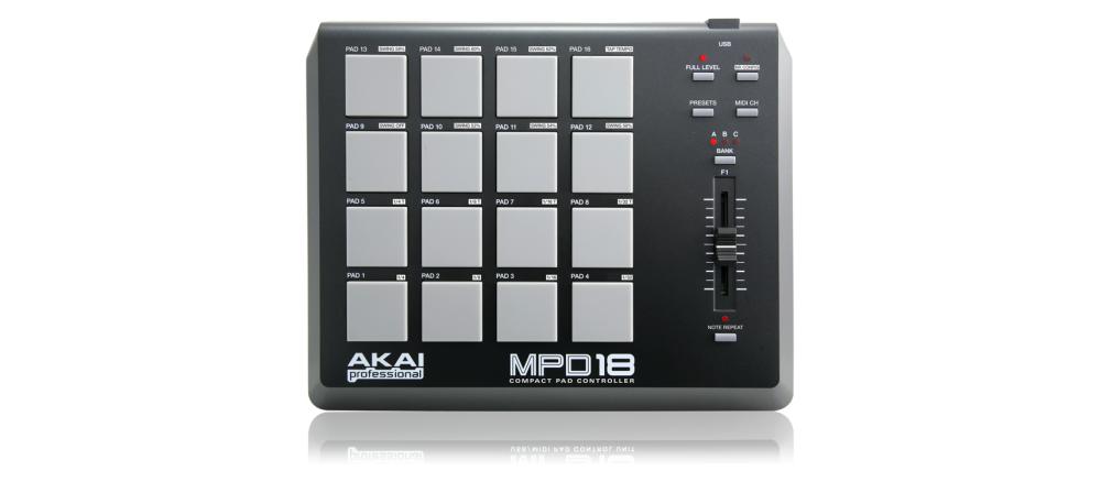 DJ-контроллеры Akai MPD 18