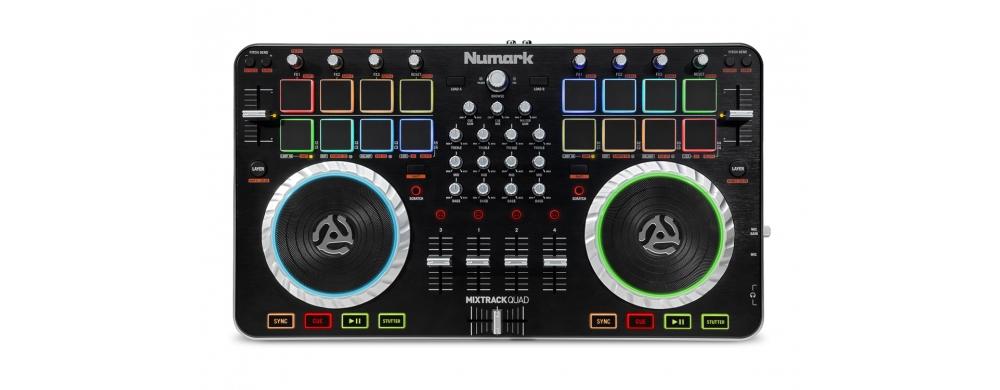 DJ-контроллеры Numark MIXTRACK QUAD