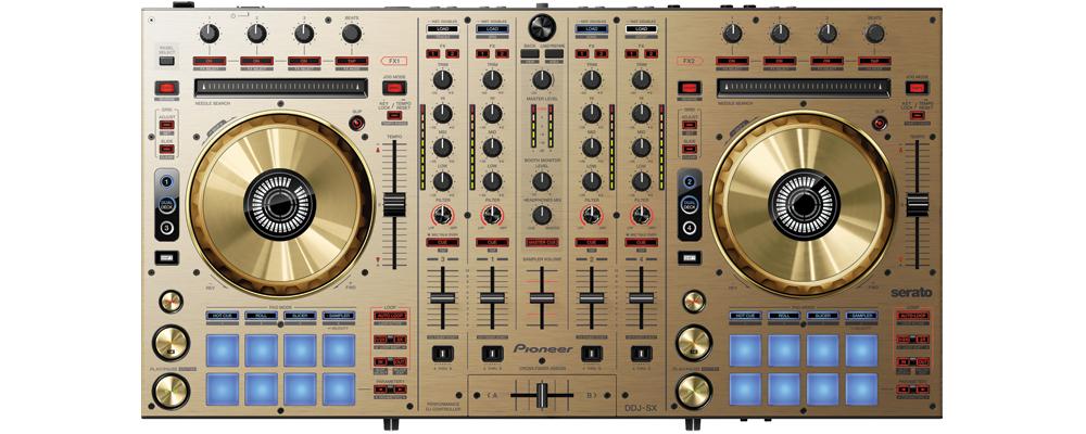 DJ-контроллеры Pioneer DDJ-SX Gold