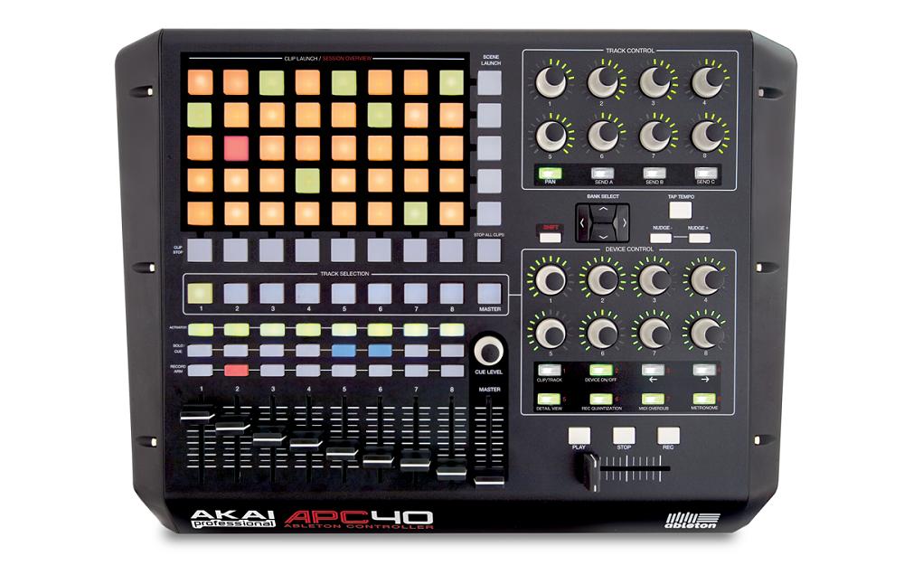 DJ-контроллеры Akai APC40
