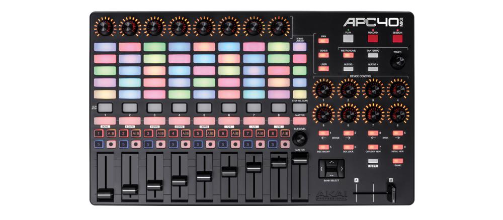DJ-контроллеры Akai APC40 MkII