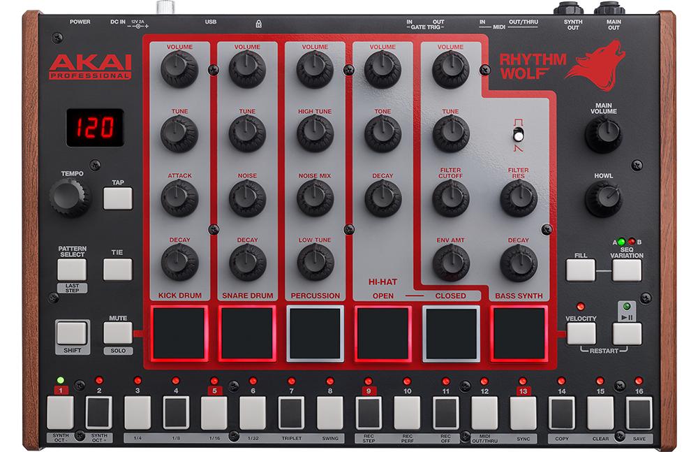 DJ-контроллеры Akai Rhythm Wolf
