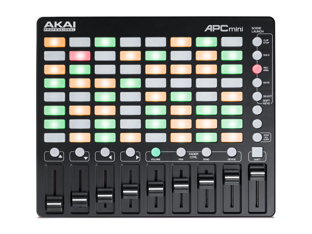 DJ-контроллеры Akai APC mini