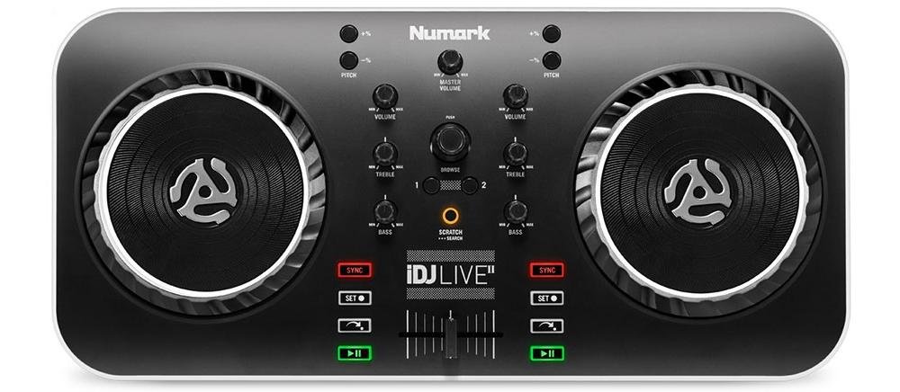 DJ-контроллеры Numark iDJ Live II