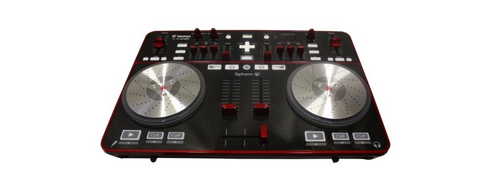 DJ-контроллеры Vestax Typhoon VDJ
