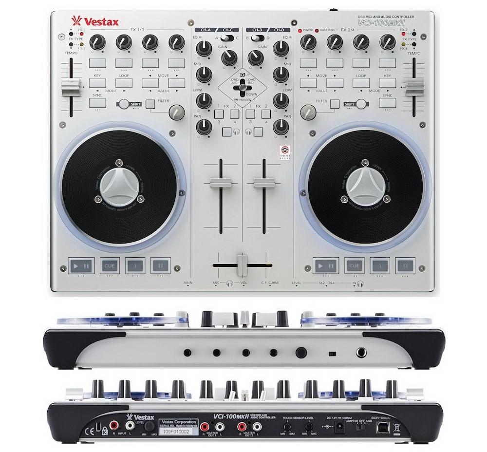 DJ-контроллеры Vestax VCI-100 MK2