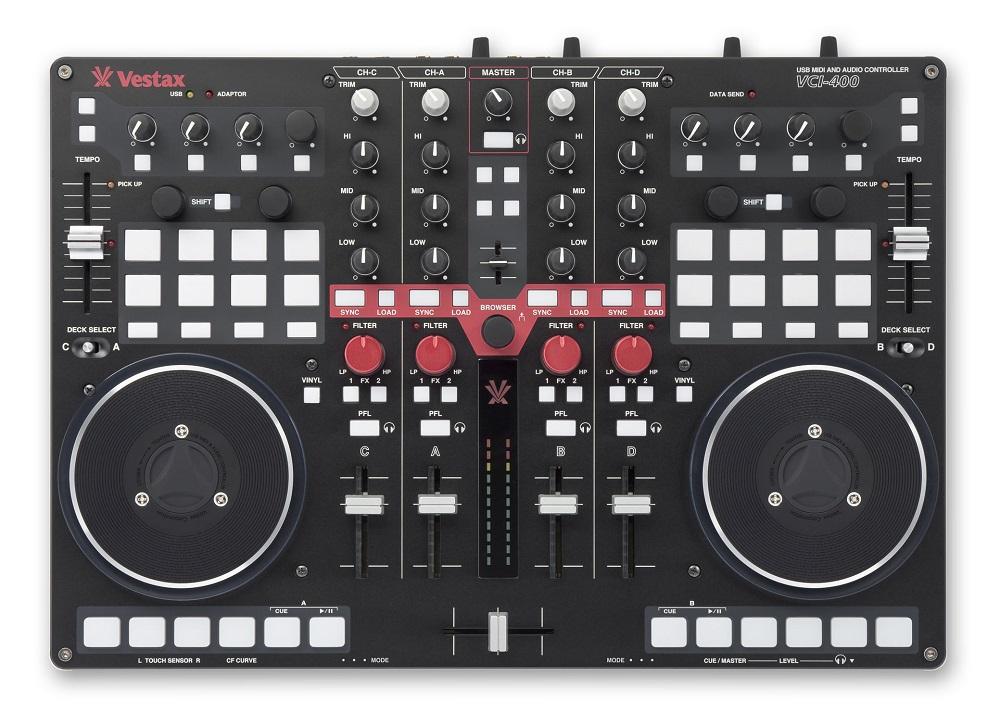 DJ-контроллеры Vestax VCI-400