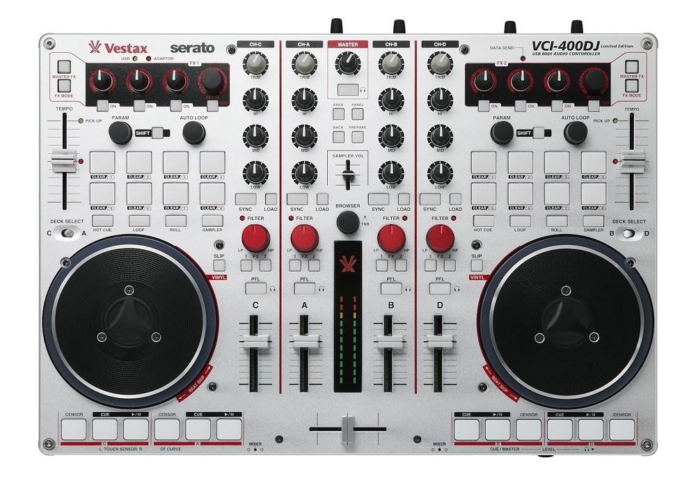 DJ-контроллеры Vestax VCI-400DJ