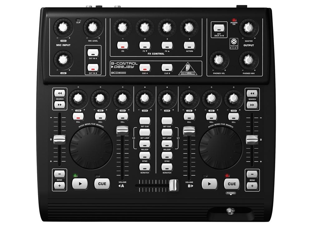DJ-контроллеры Behringer BCD 3000 B-Control Deejay