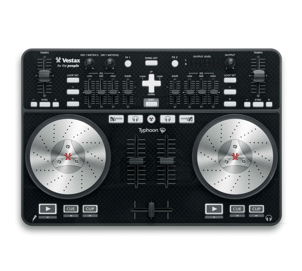 DJ-контроллеры Vestax Typhoon black