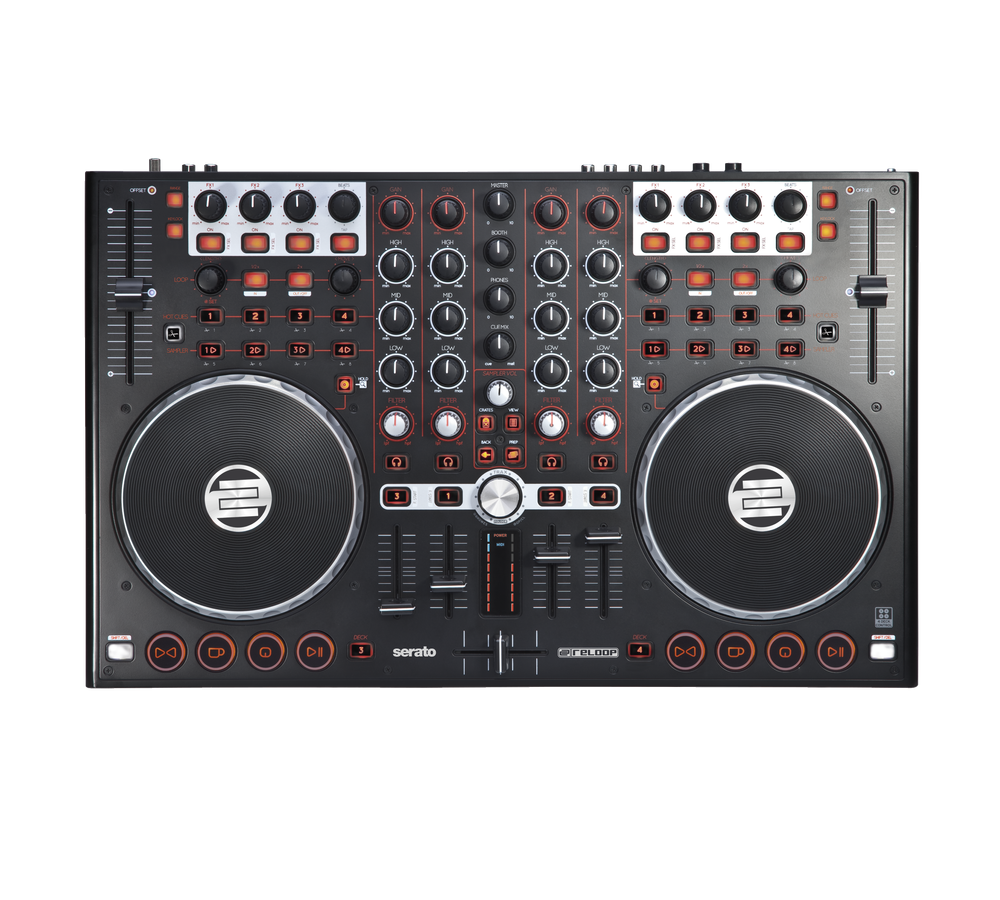 DJ-контроллеры Reloop Terminal Mix 4