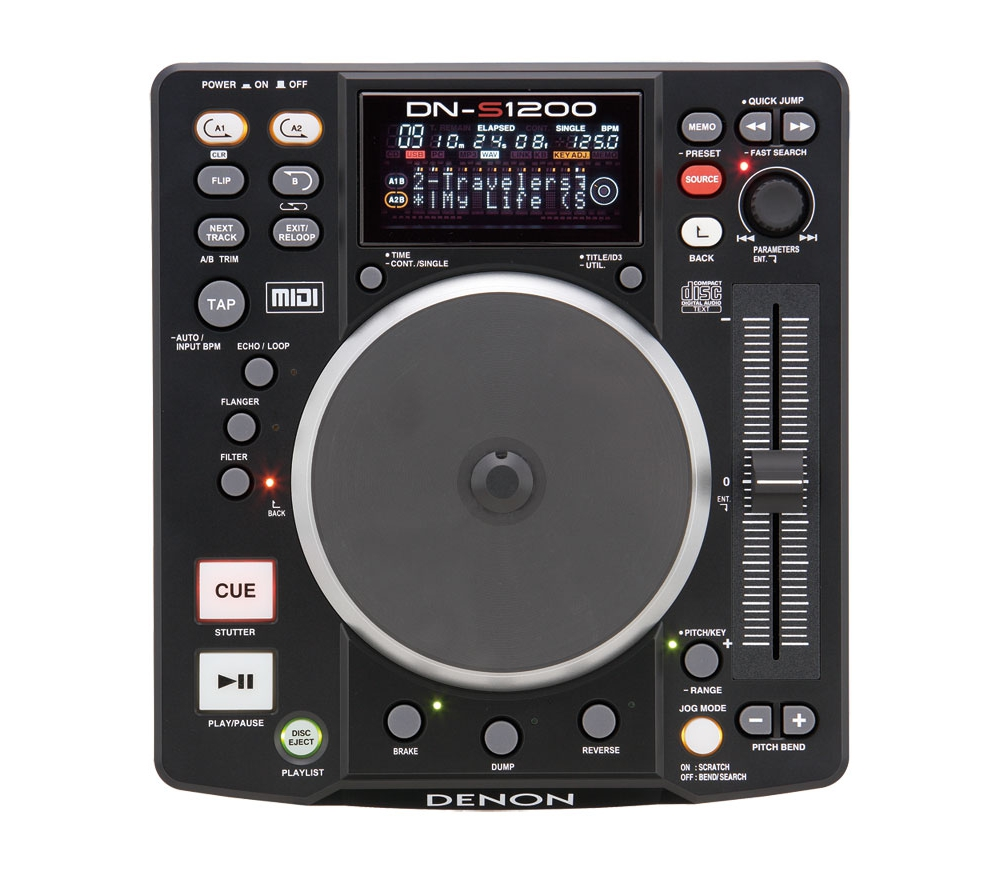 CD/USB-проигрыватели Denon DN-S1200 DJ