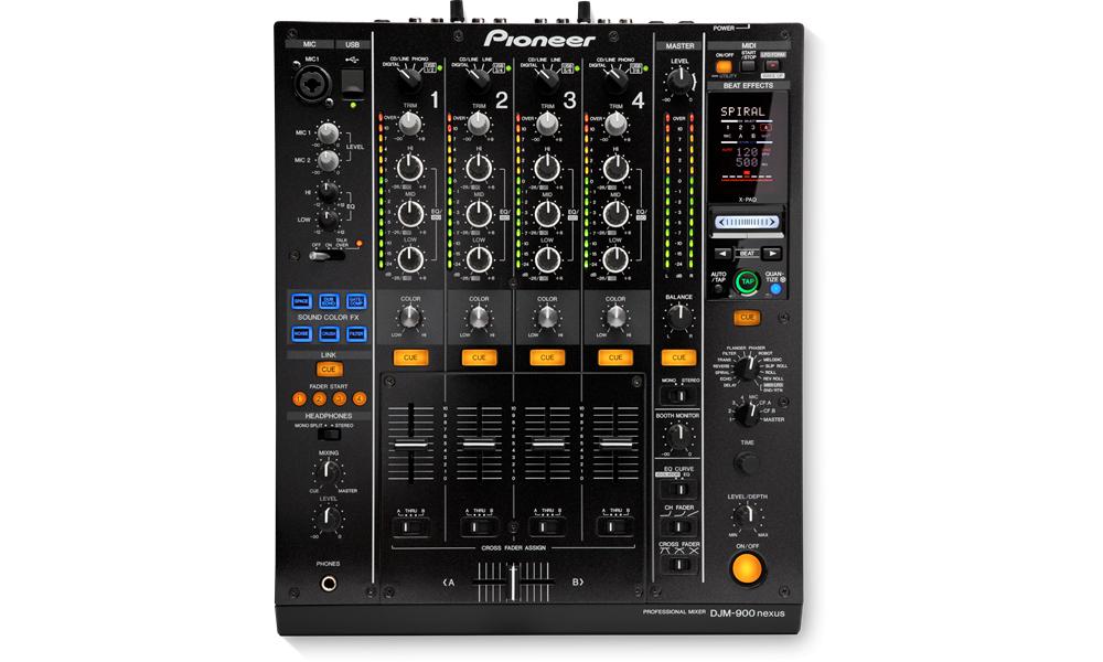 DJ-микшеры Pioneer DJM-900 Nexus