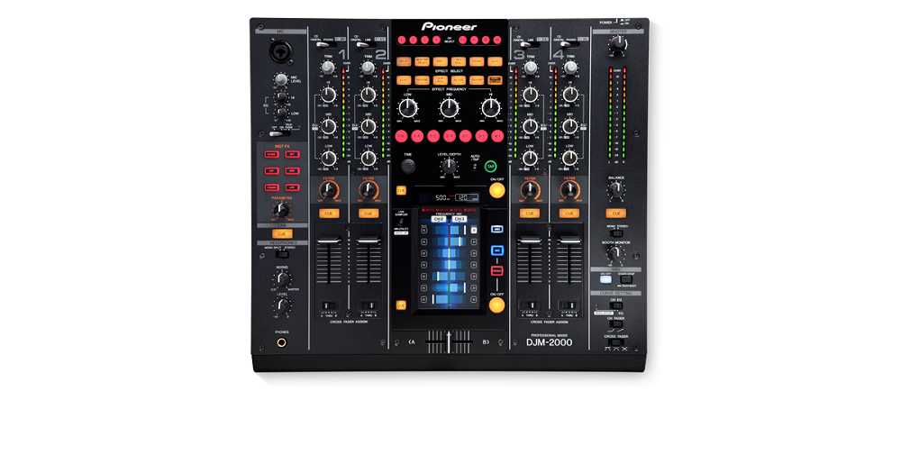 DJ-микшеры Pioneer DJM-2000