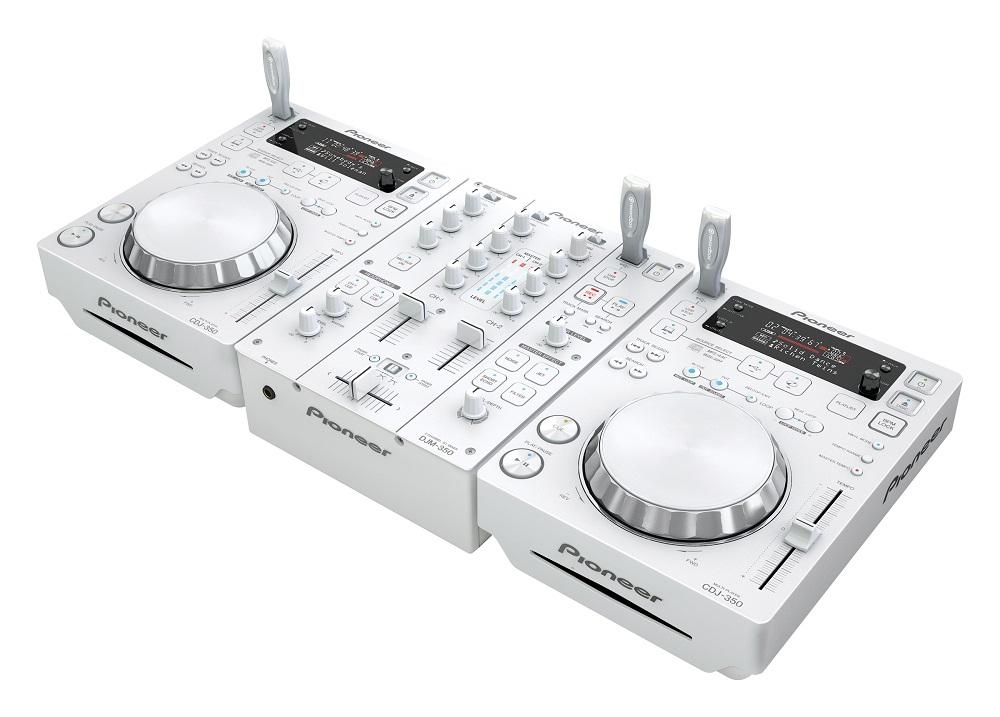 DJ-комплекты Pioneer CDJ-350 White (2 шт) + DJM-350 White