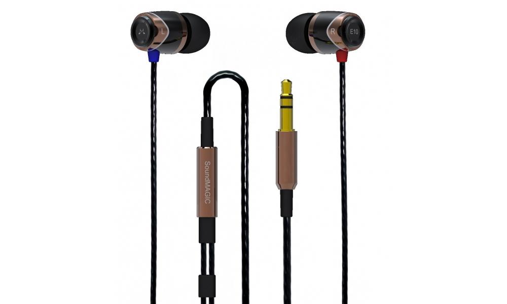 Наушники для плеера SoundMAGIC E10 Gold