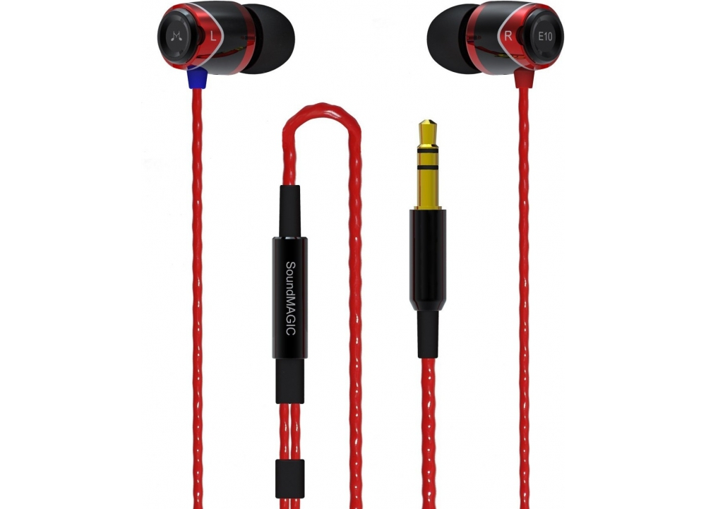 Наушники для плеера SoundMAGIC E10 Black Red
