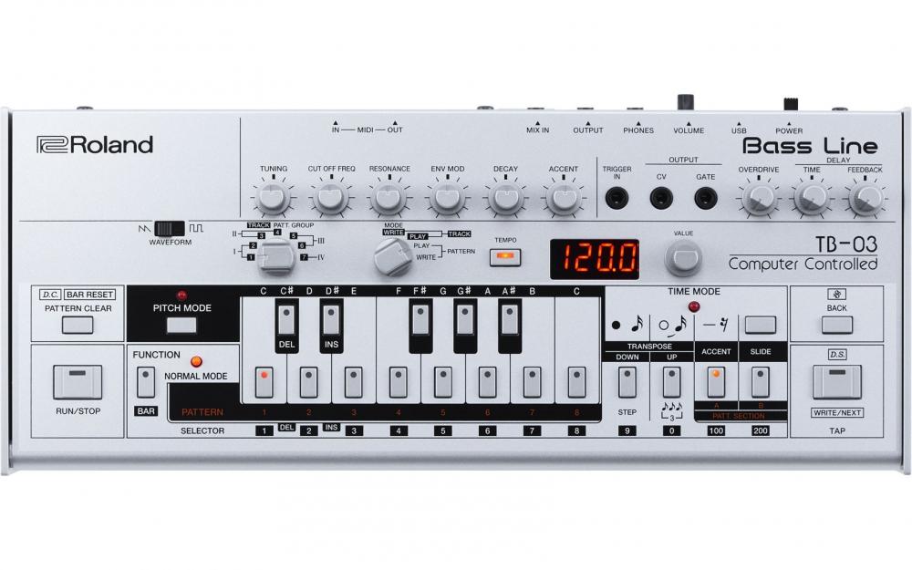 Синтезаторы и рабочие станции Roland TB-03