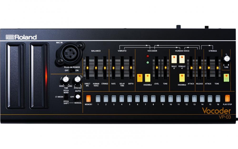 Синтезаторы и рабочие станции Roland VP-03